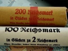 Rollenpapier Für Reichsfünfer Und Andere Silber Barren Und Münzen